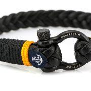 Constantin Nautics® Jack Tar náramek z pravé kůže CNJ10055