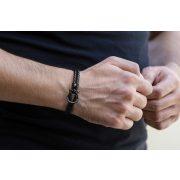 Constantin Nautics® Jack Tar náramek z pravé kůže CNJ10095-18